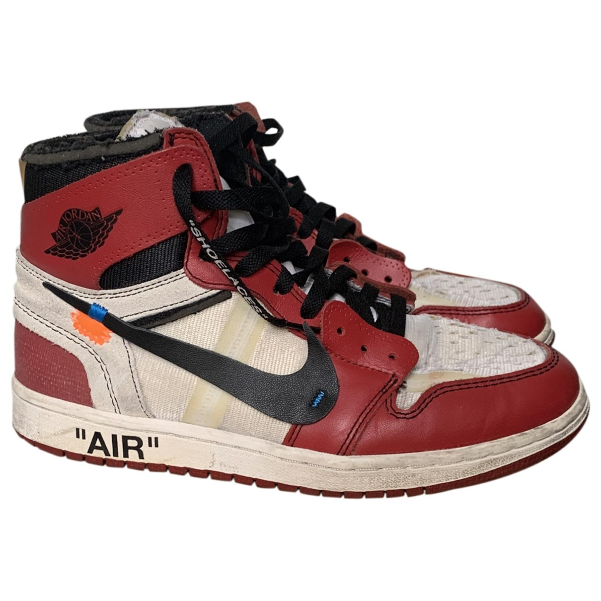 Nike X Off-white - Baskets Air Force 1 pour homme - rouge