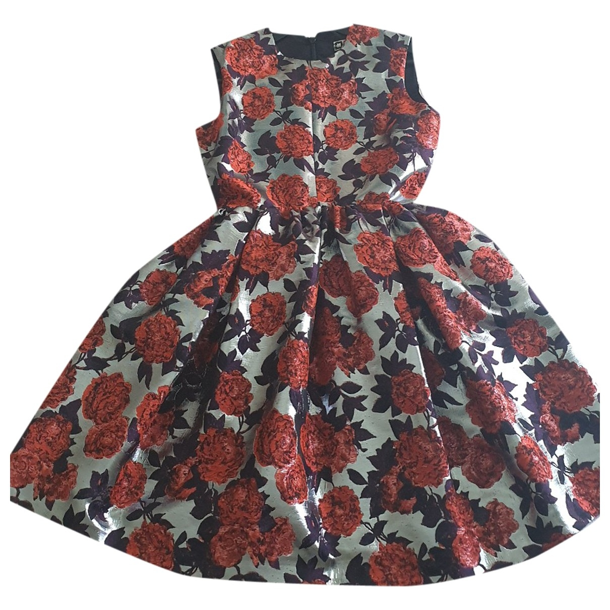 Msgm - Robe   pour femme - rouge