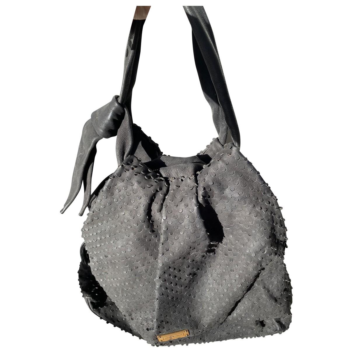 Emporio Armani \N Black Suede handbag for Women \N