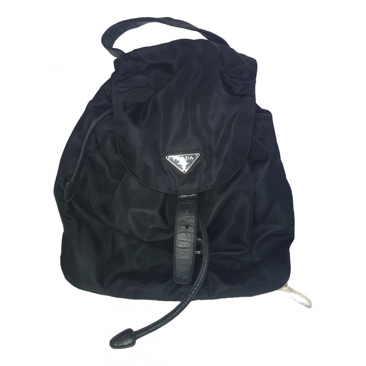 Prada \N Black backpack for Women \N