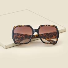 Toddler Kids Tortoiseshell Frame Sunglasses