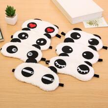 1pc Panda Pattern Random Eye Cover