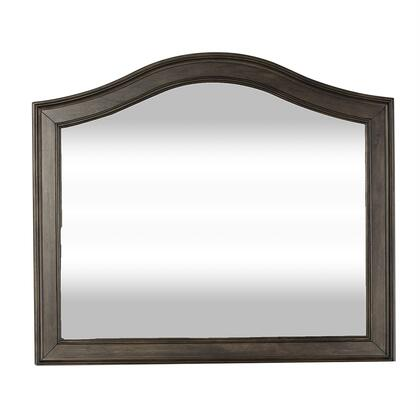 Catawba Hills 816-BR51 Mirror with Beveled Mirrord Glass in Peppercorn