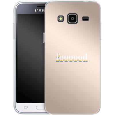 Samsung Galaxy J3 (2016) Silikon Handyhuelle - foooood von #basic