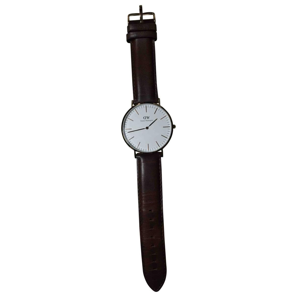 Daniel Wellington \N Brown Steel watch for Women \N