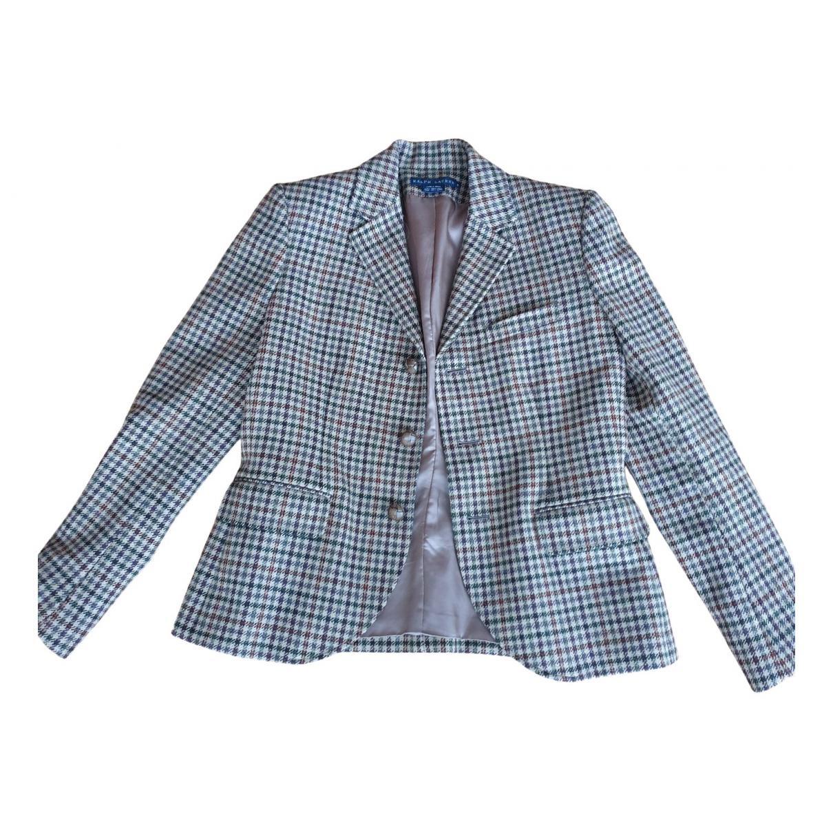 Ralph Lauren N Beige Wool jacket for Women 8 US