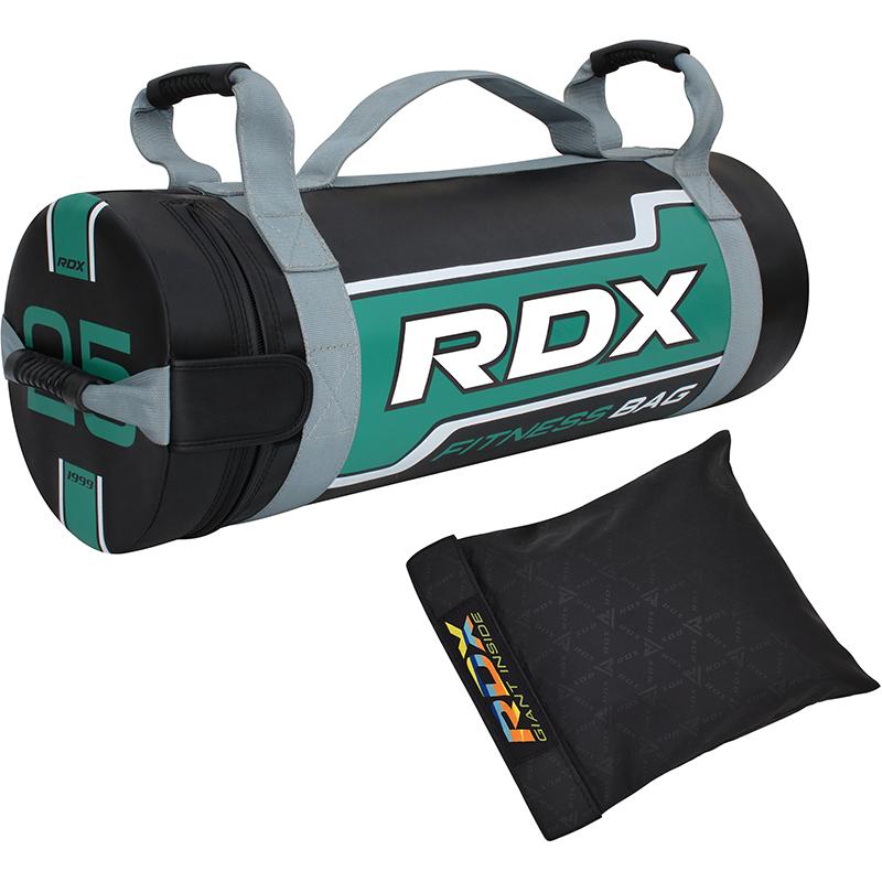 RDX FB Sac de Sable de Musculation  25KG vert Nylon