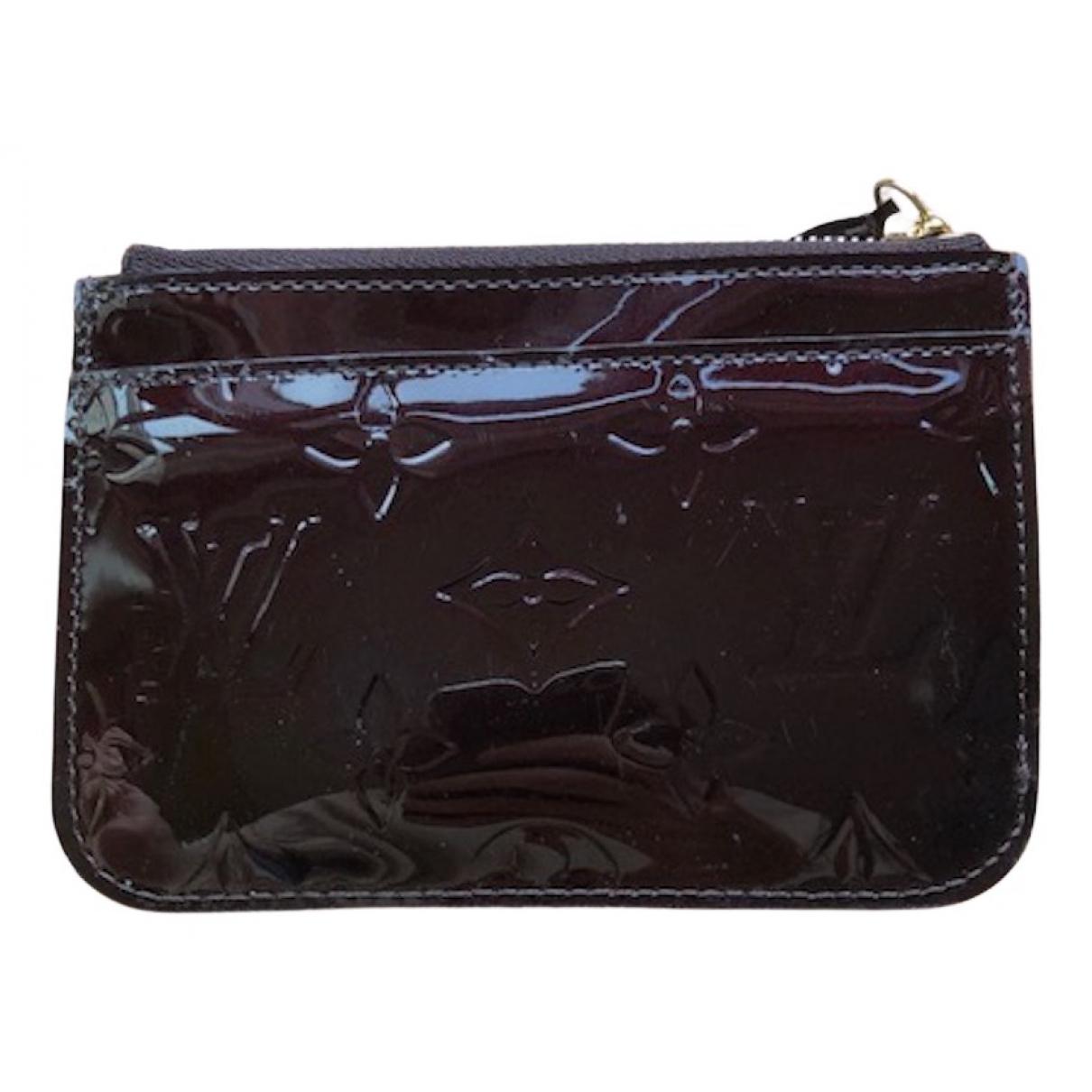 Louis Vuitton - Petite maroquinerie   pour femme en cuir verni - violet
