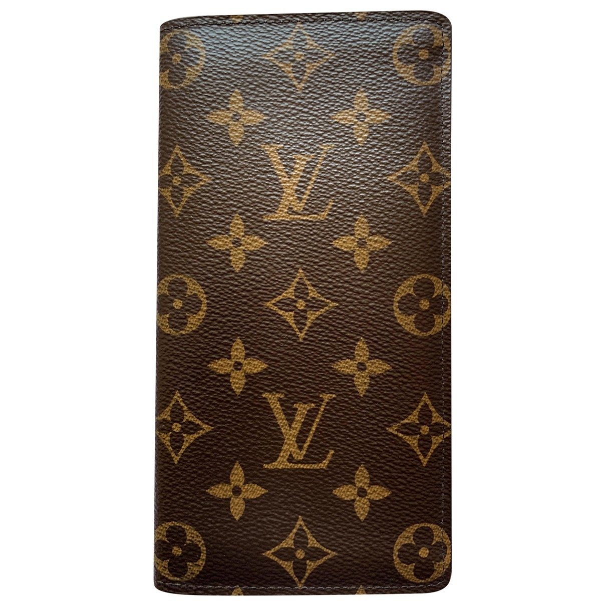 Louis Vuitton Brazza Brown Cloth Small bag, wallet & cases for Men \N
