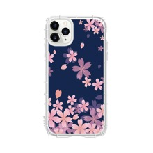 1pc Flower Print iPhone Case