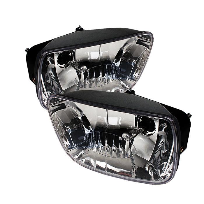 Spyder Auto FL-CTB02-C Clear OEM Fog Lights Chevrolet TrailBlazer 02-09