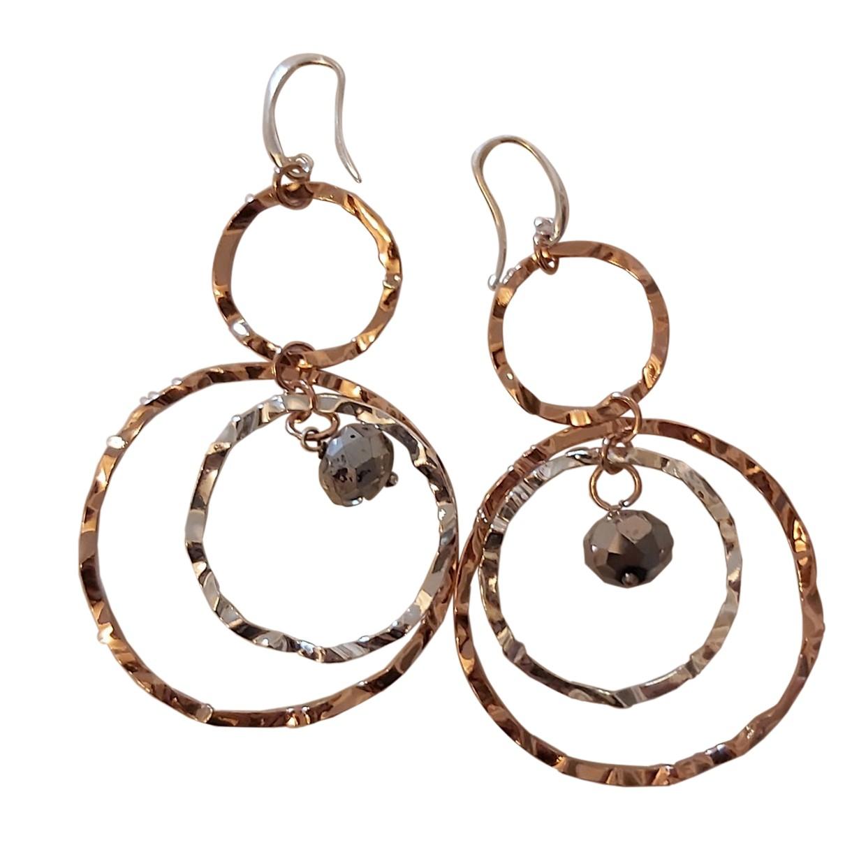 Autre Marque N Gold Silver Earrings for Women N