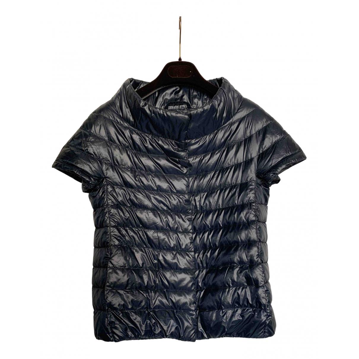 Herno N Blue jacket for Women 40 IT