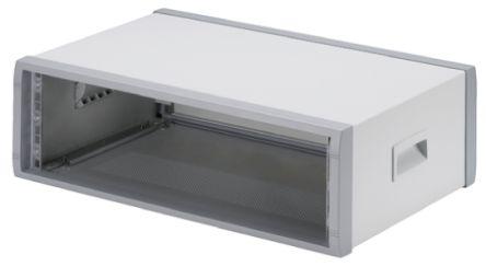 OKW Instrumet 3U 19-Inch Floor Cabinet 157.26 x 516.25 x 350mm, Grey