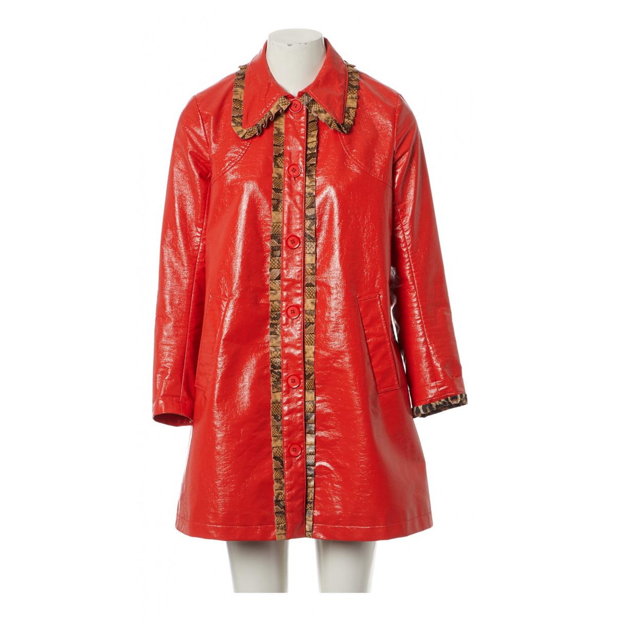 Manoush \N Jacke in  Orange Polyester