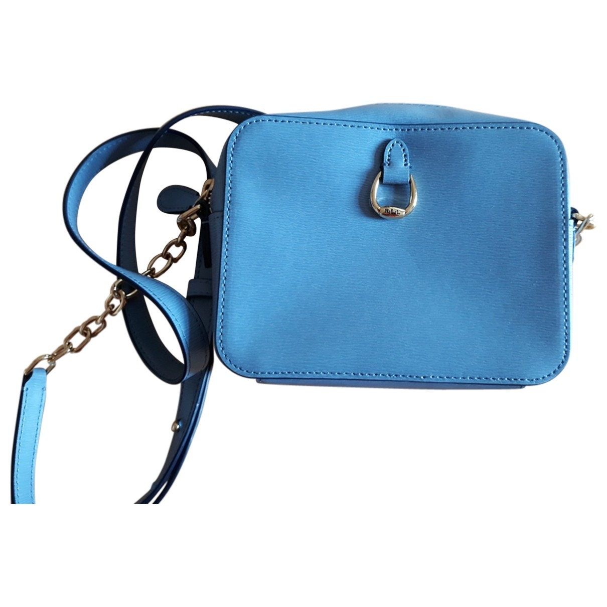 Lauren Ralph Lauren \N Blue Leather handbag for Women \N