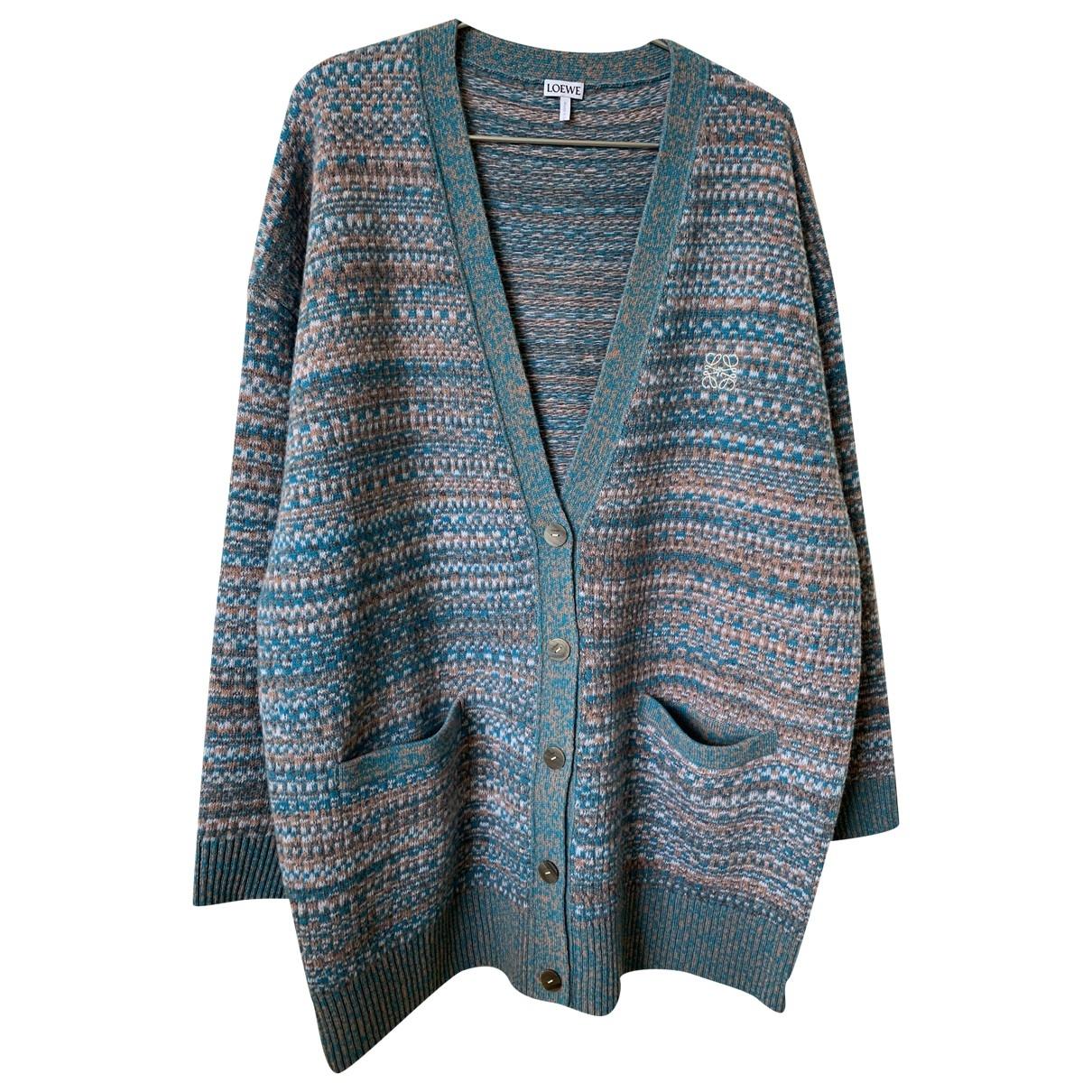 Loewe \N Pullover in  Bunt Wolle