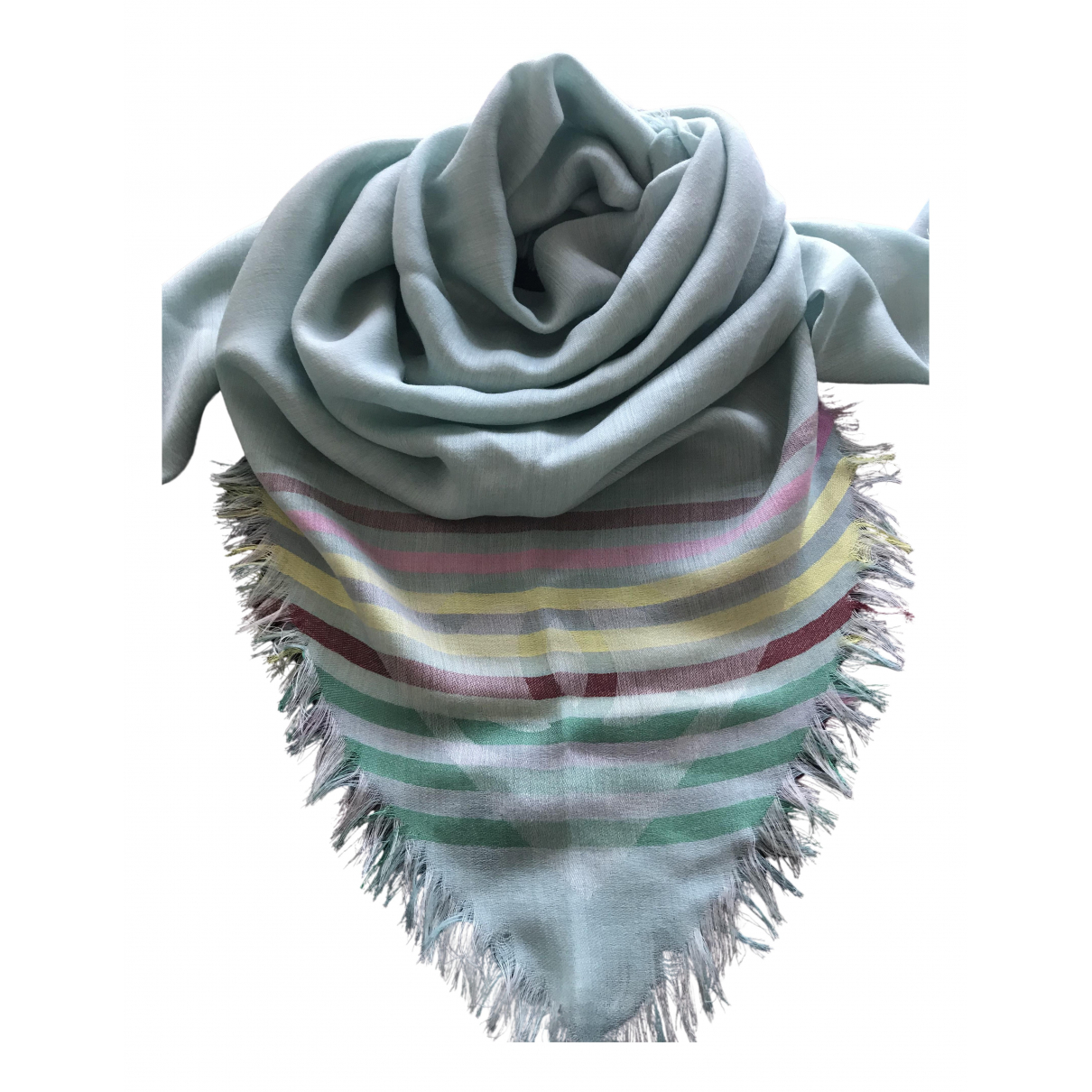 Chanel N Blue Cashmere scarf for Women N