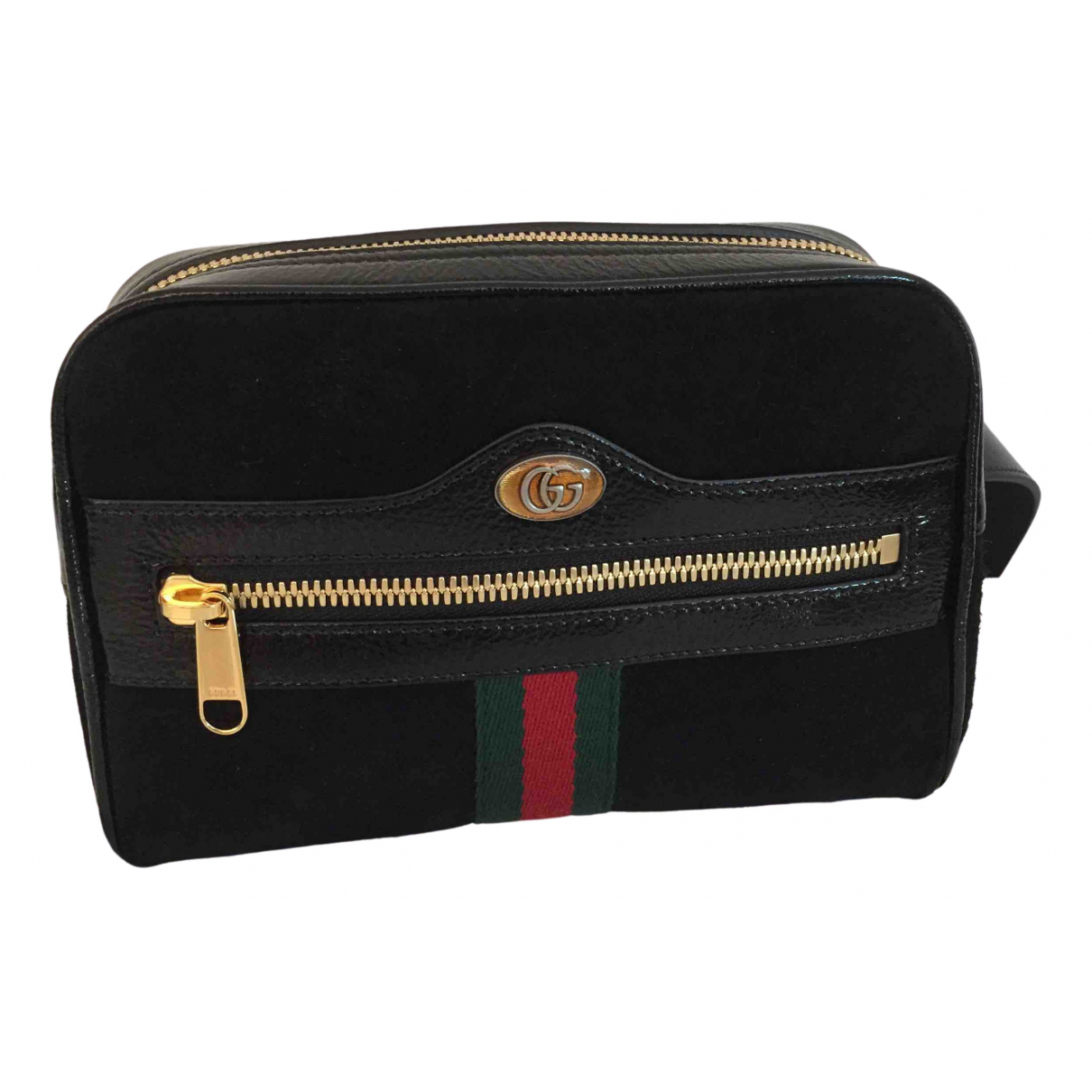 Gucci Ophidia Black Suede Clutch bag for Women \N