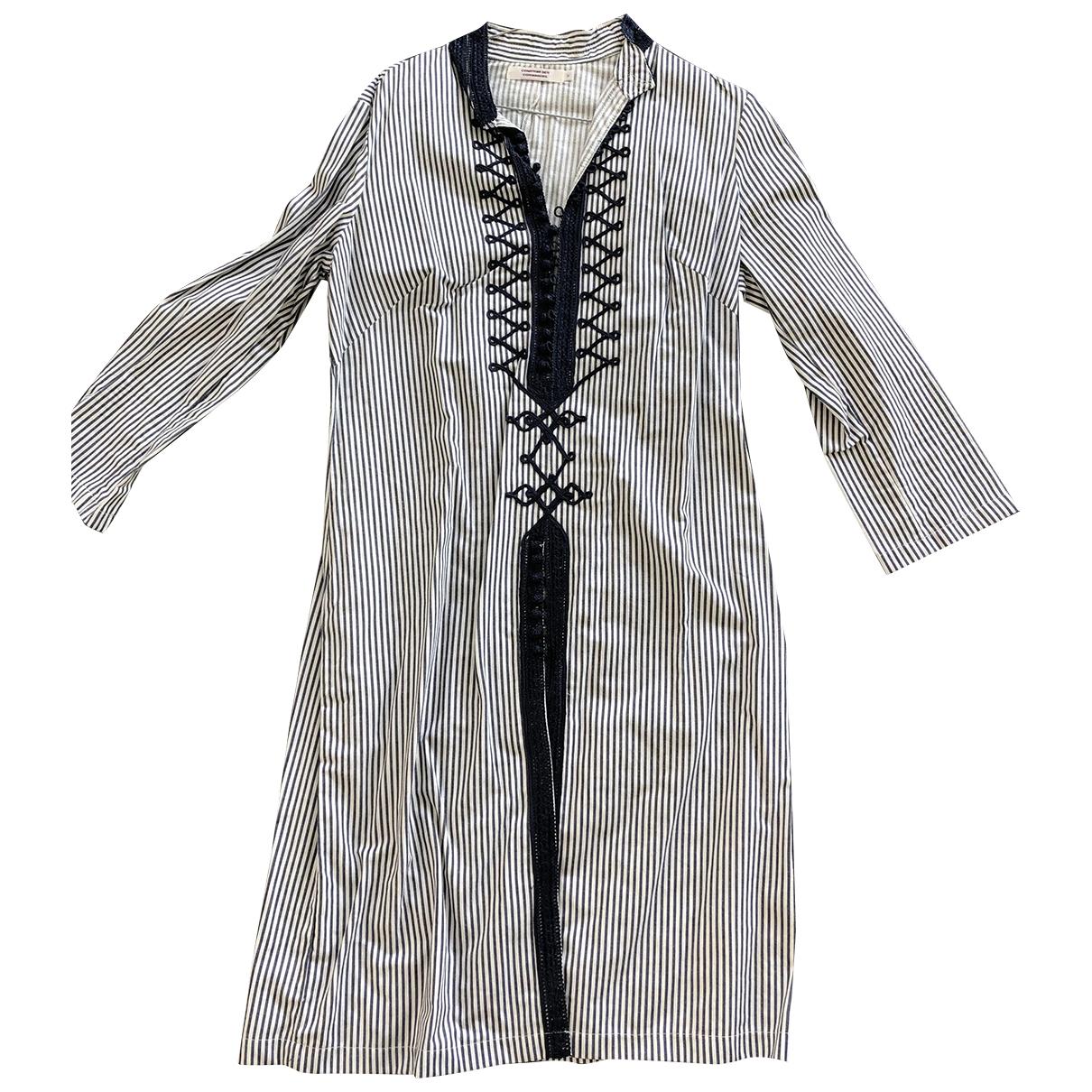 Comptoir Des Cotonniers - Robe   pour femme en coton - marine