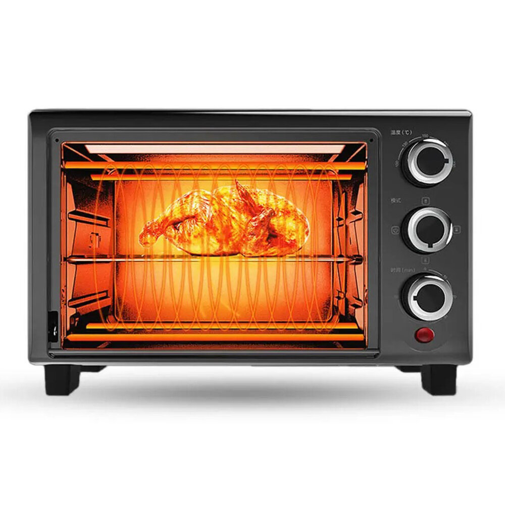 VIOMI From XIAOMI Youpin VO1601 1.6L / 680W Microwave Oven Household Baking Multifunctional Automatic Two Heating Tube C