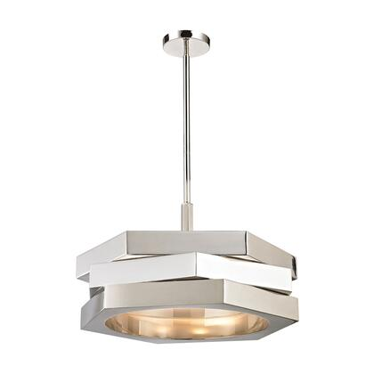 1141-011 Facet 3 Light Pendant  In Polished