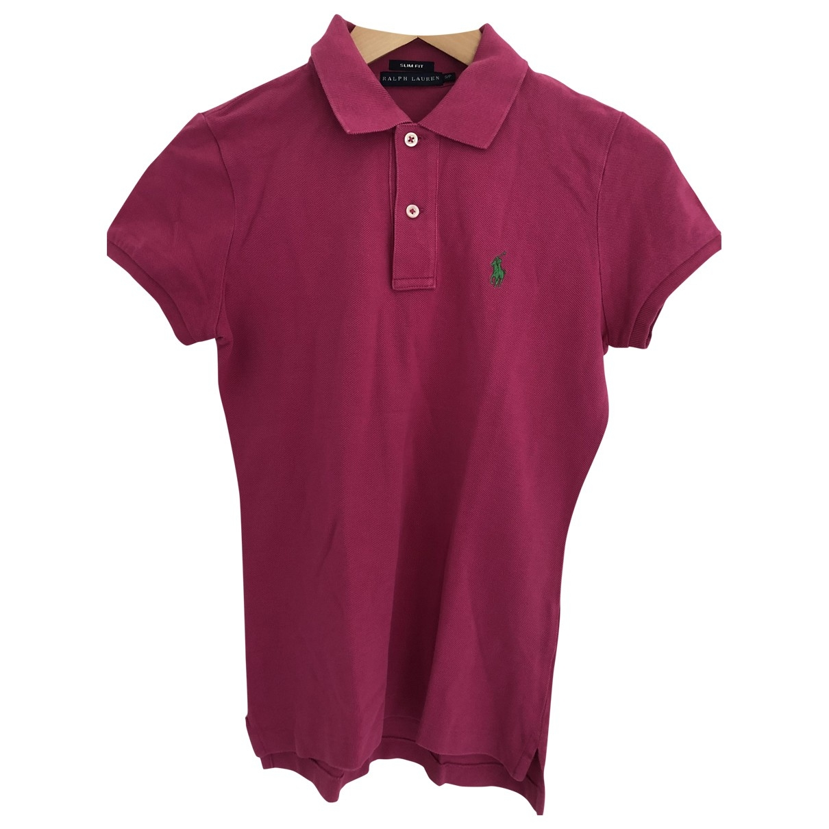 Ralph Lauren - Top   pour femme en coton - rose