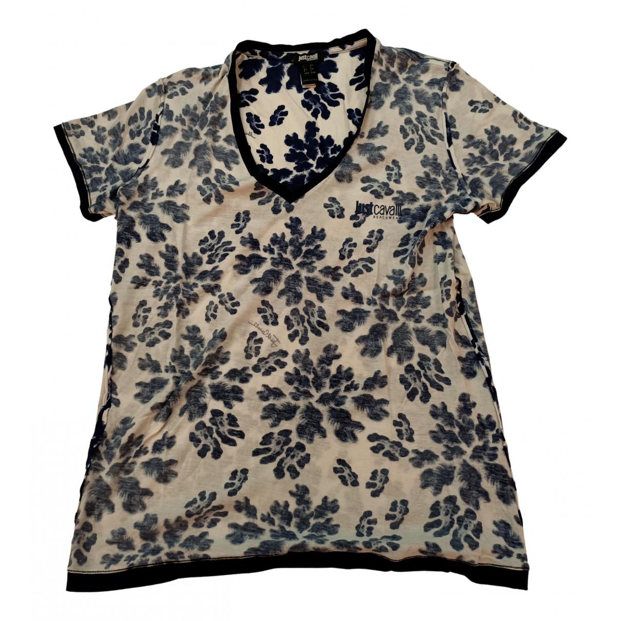 Just Cavalli N Multicolour Cotton T-shirts for Men XS International