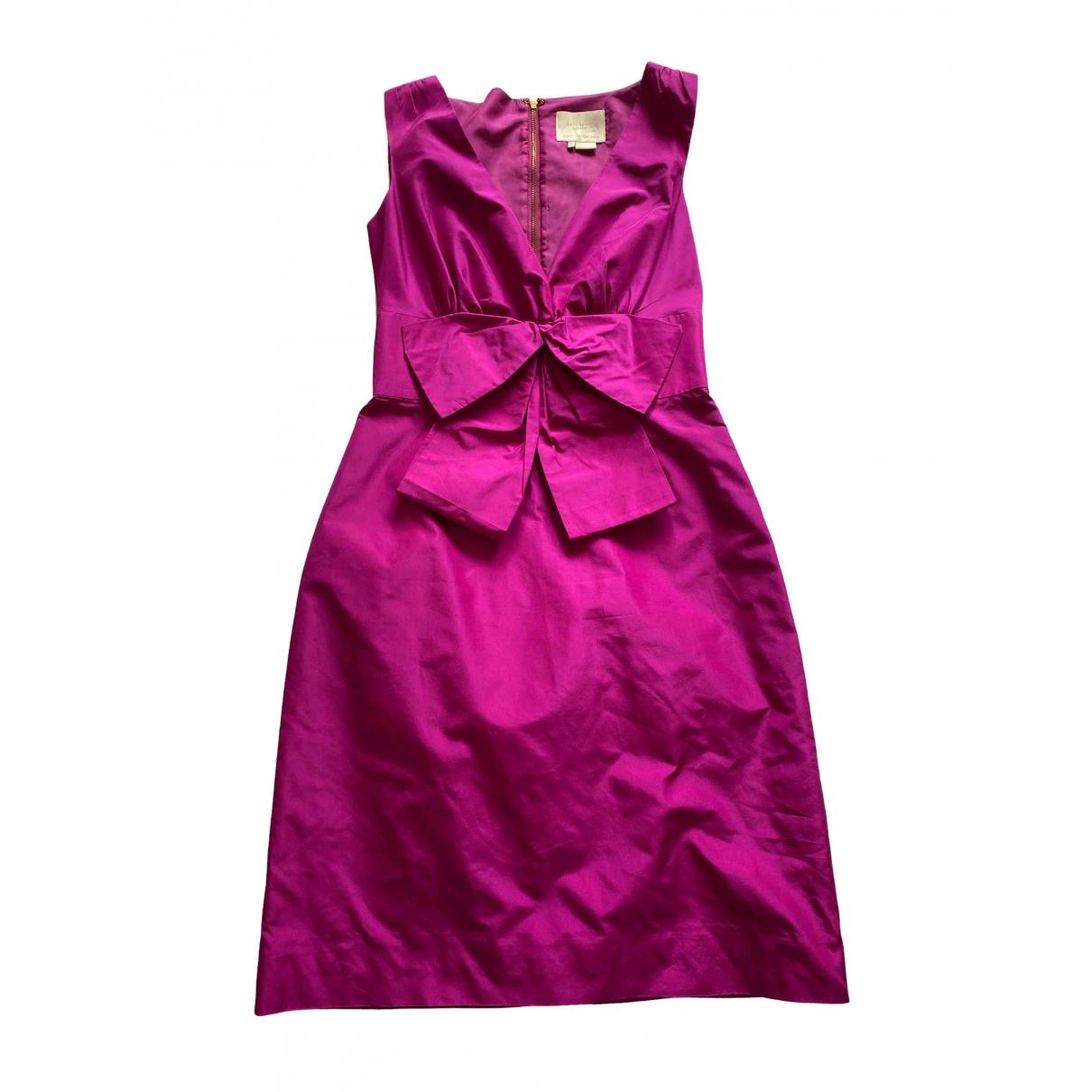 Kate Spade \N Kleid in  Rosa Seide