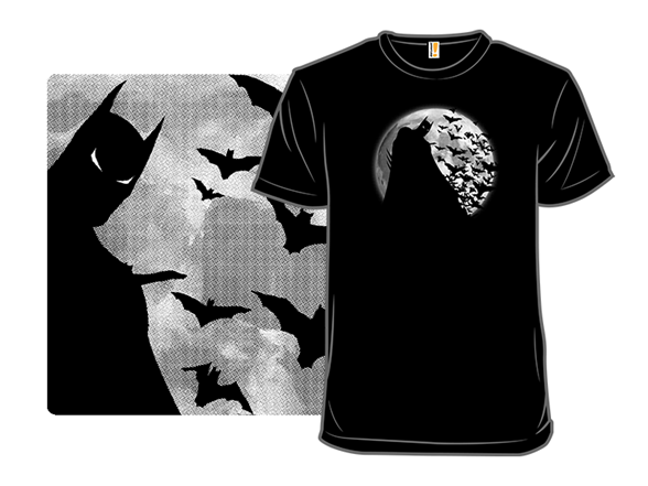 Shadow Under The Moon T Shirt
