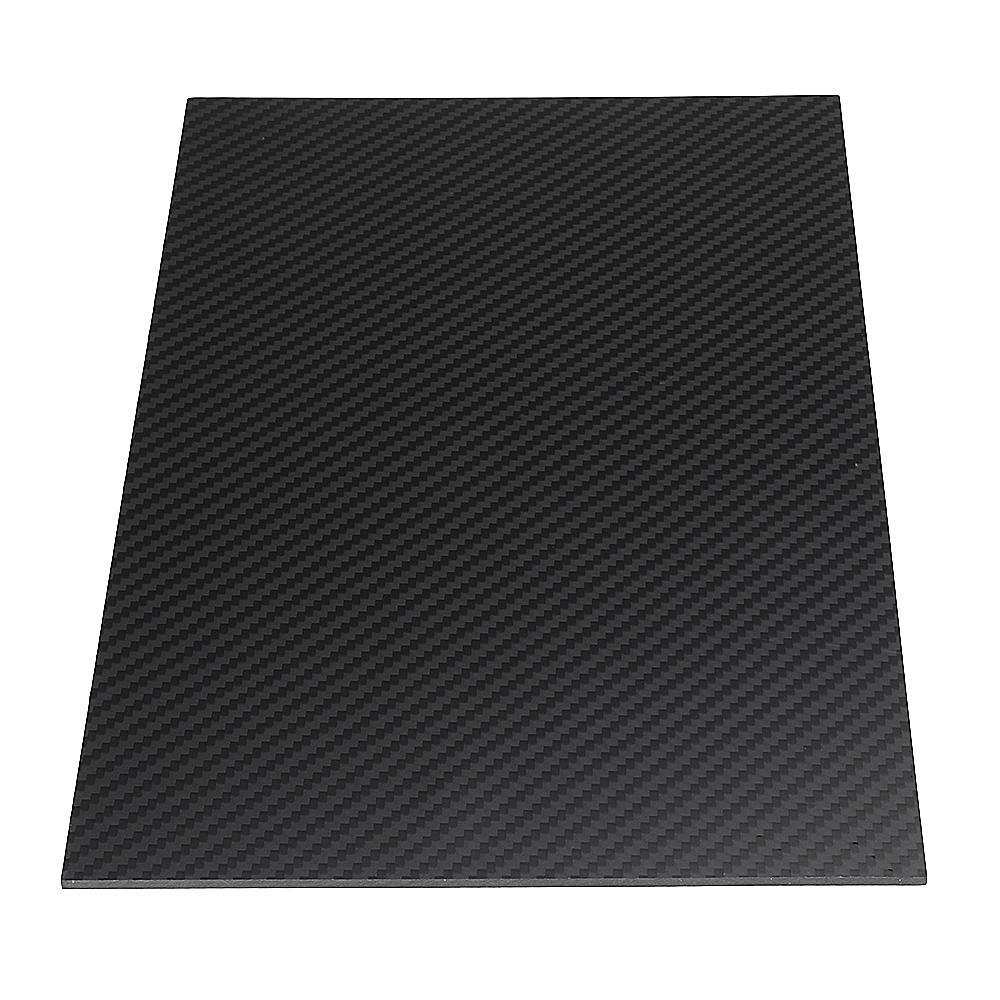 300X500mm 3K Carbon Fiber Board Carbon Fiber Plate Plain Weave Matte Panel Sheet 0.5-5mm Thickness