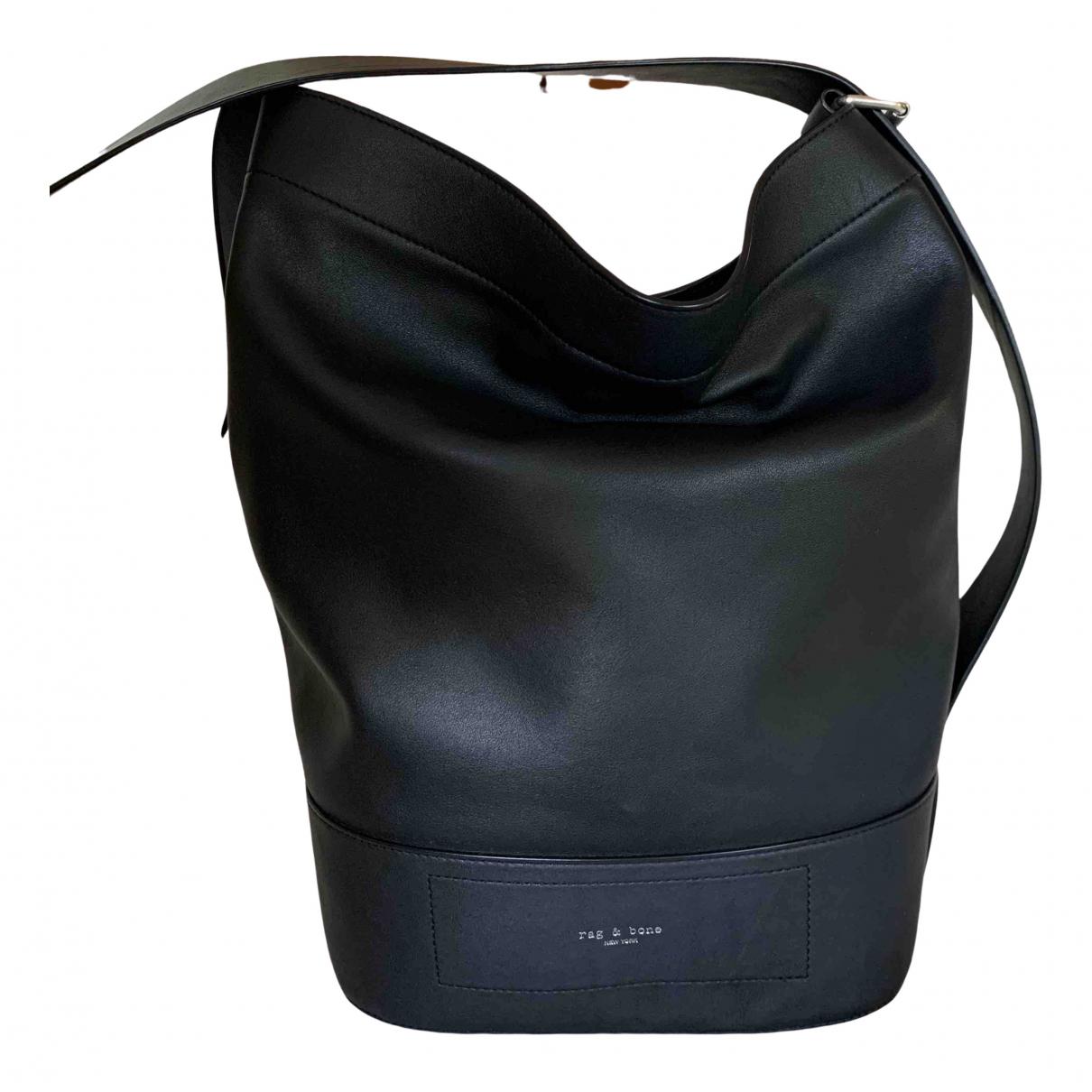 Rag & Bone - Sac a main   pour femme en cuir - noir