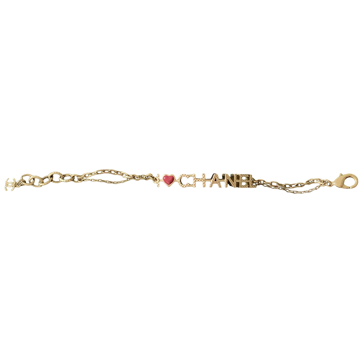 Chanel CHANEL Armband in  Gold Metall