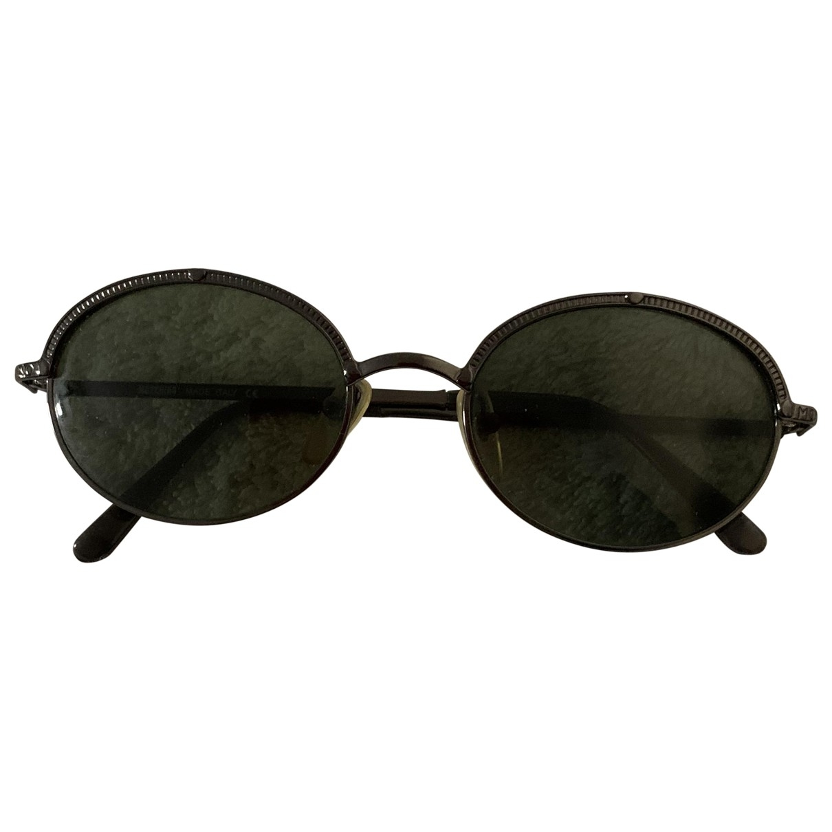 Moschino - Lunettes   pour femme en metal - anthracite
