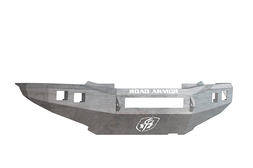 TOYOTA Front Non-Winch Bumper Square Light Ports TACOMA 12-15 RAW Road Armor 905R0Z-NW Stealth Series