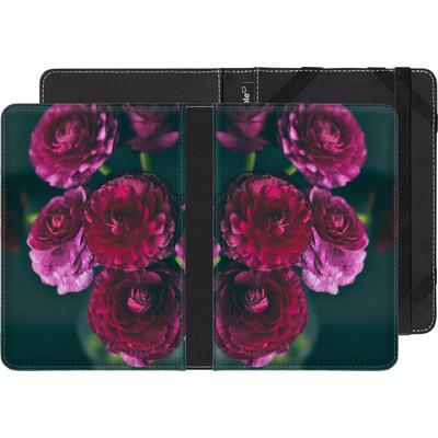 Kobo Aura Edition 2 eBook Reader Huelle - Purple Ranunculus 2 von Joy StClaire