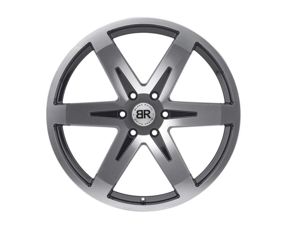 Black Rhino Peak Gloss Black w/ Mirror Cut Face Wheel 20x9 6x139.70|6x5.5 20mm CB112