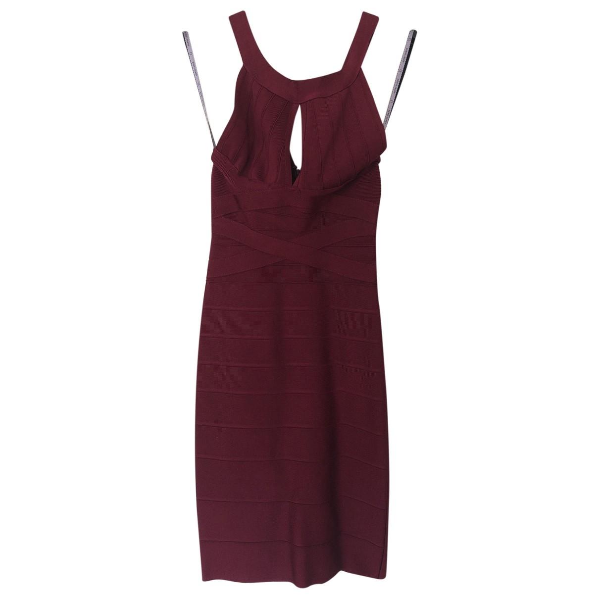 Herve Leger \N Burgundy dress for Women XXS International
