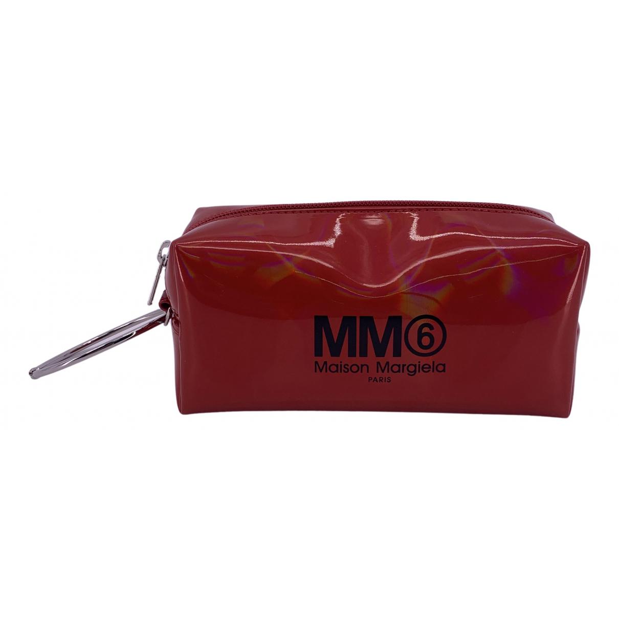 Bolsos clutch en Poliester Rojo Mm6