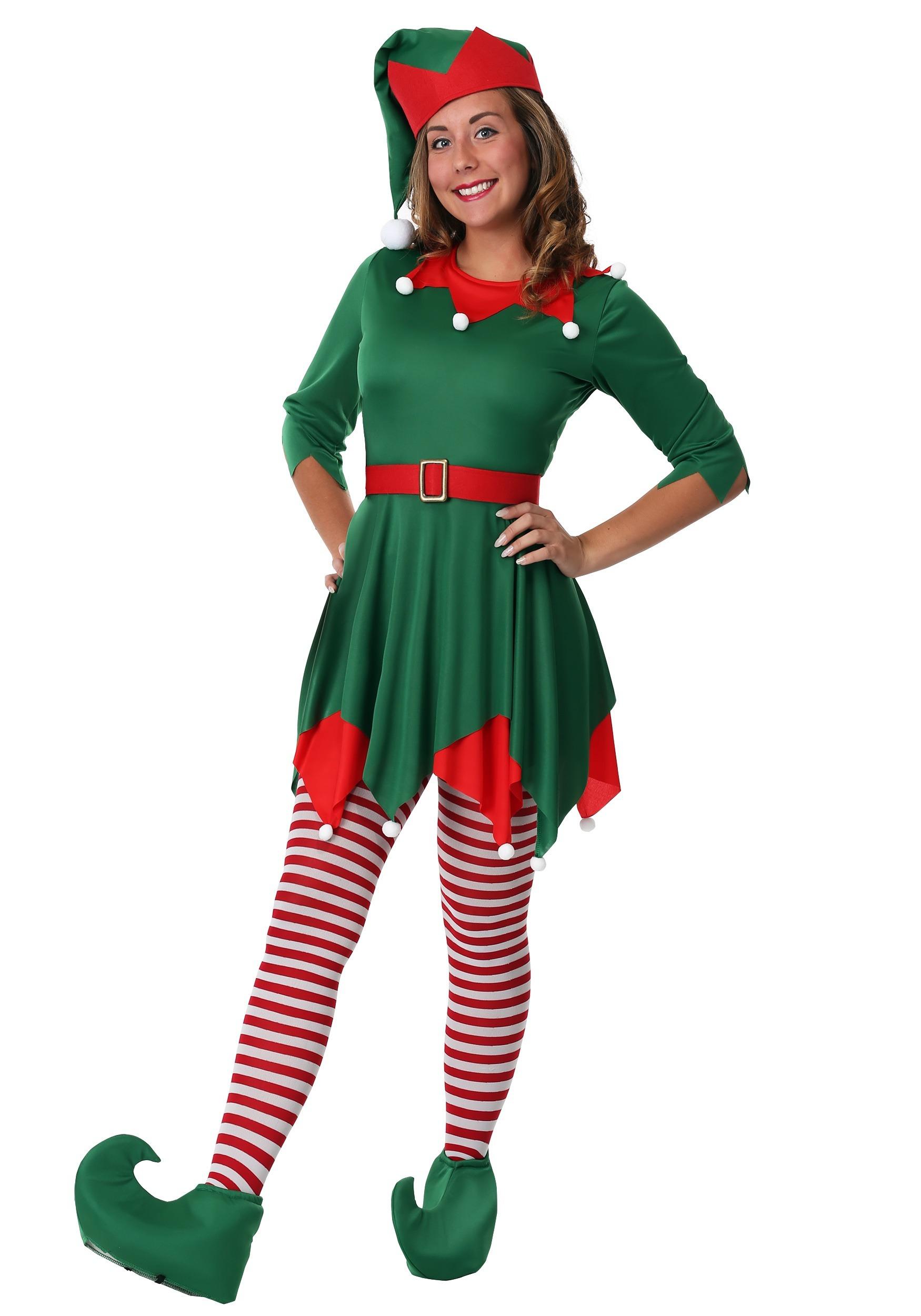 Womens Santas Helper Costume