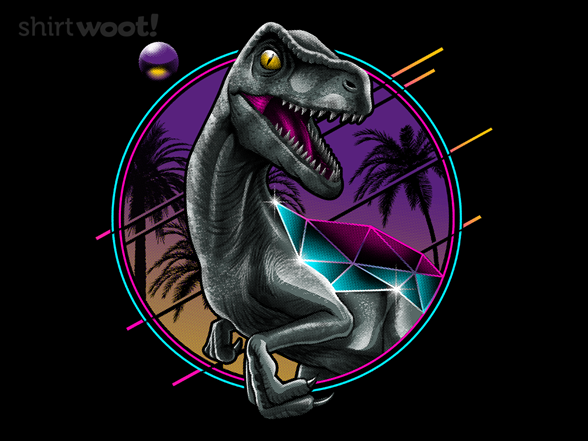 Rad Velociraptor T Shirt
