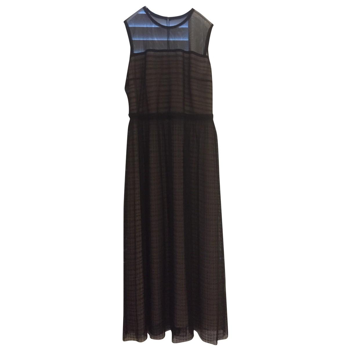 Hugo Boss \N Kleid in  Schwarz Polyester