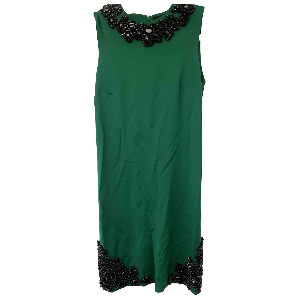 Dsquared2 \N Kleid in  Gruen Seide