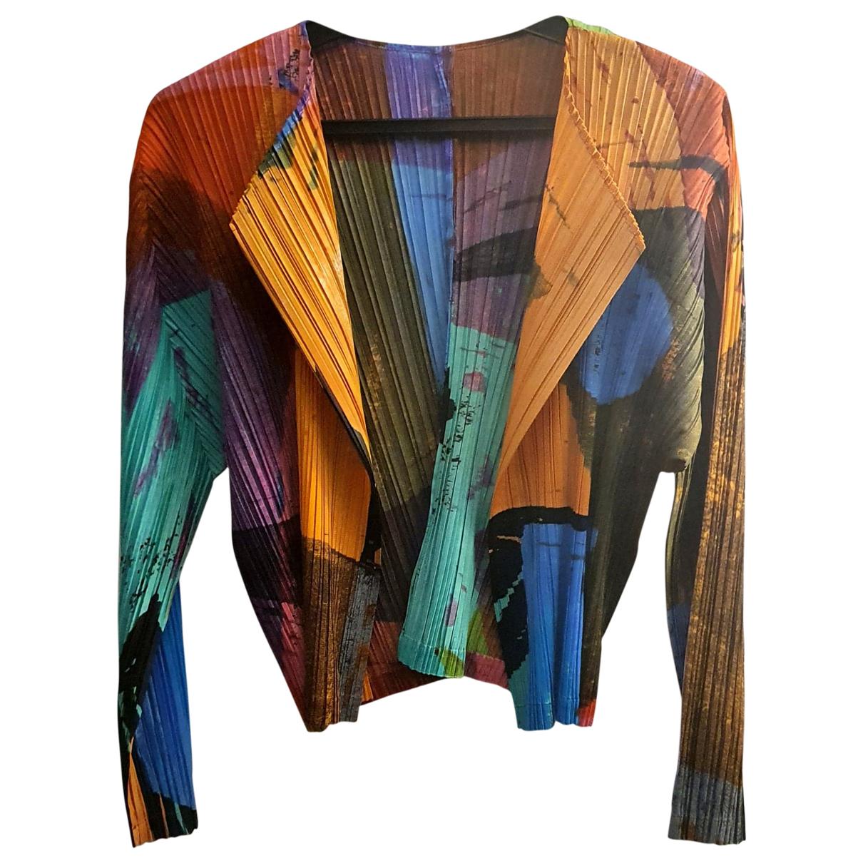 Pleats Please N Multicolour jacket for Women 5