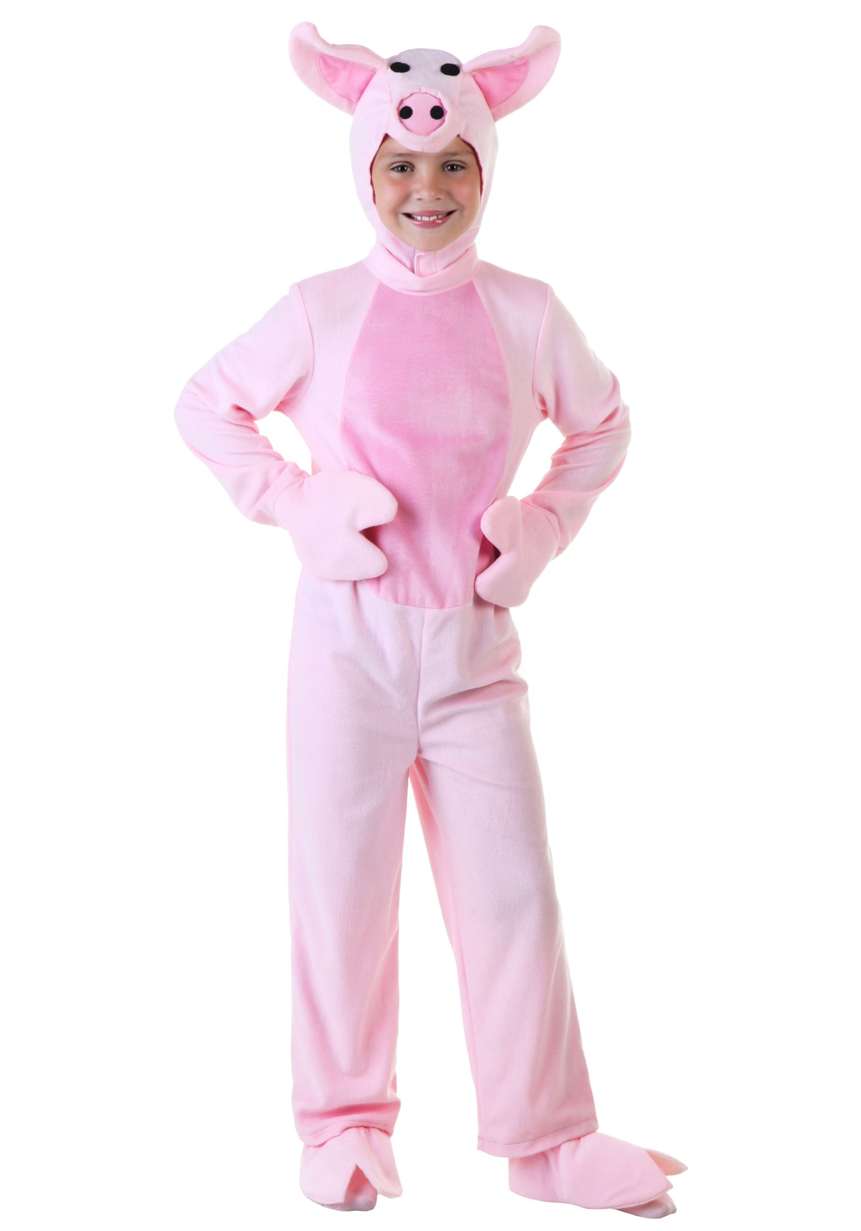 Pink Pig Costume for Kids | Farm Animal Halloween Costume | Exclusive