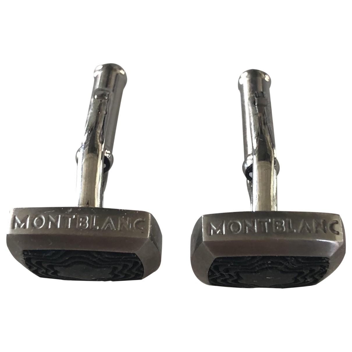 Montblanc \N Silver Silver Cufflinks for Men \N