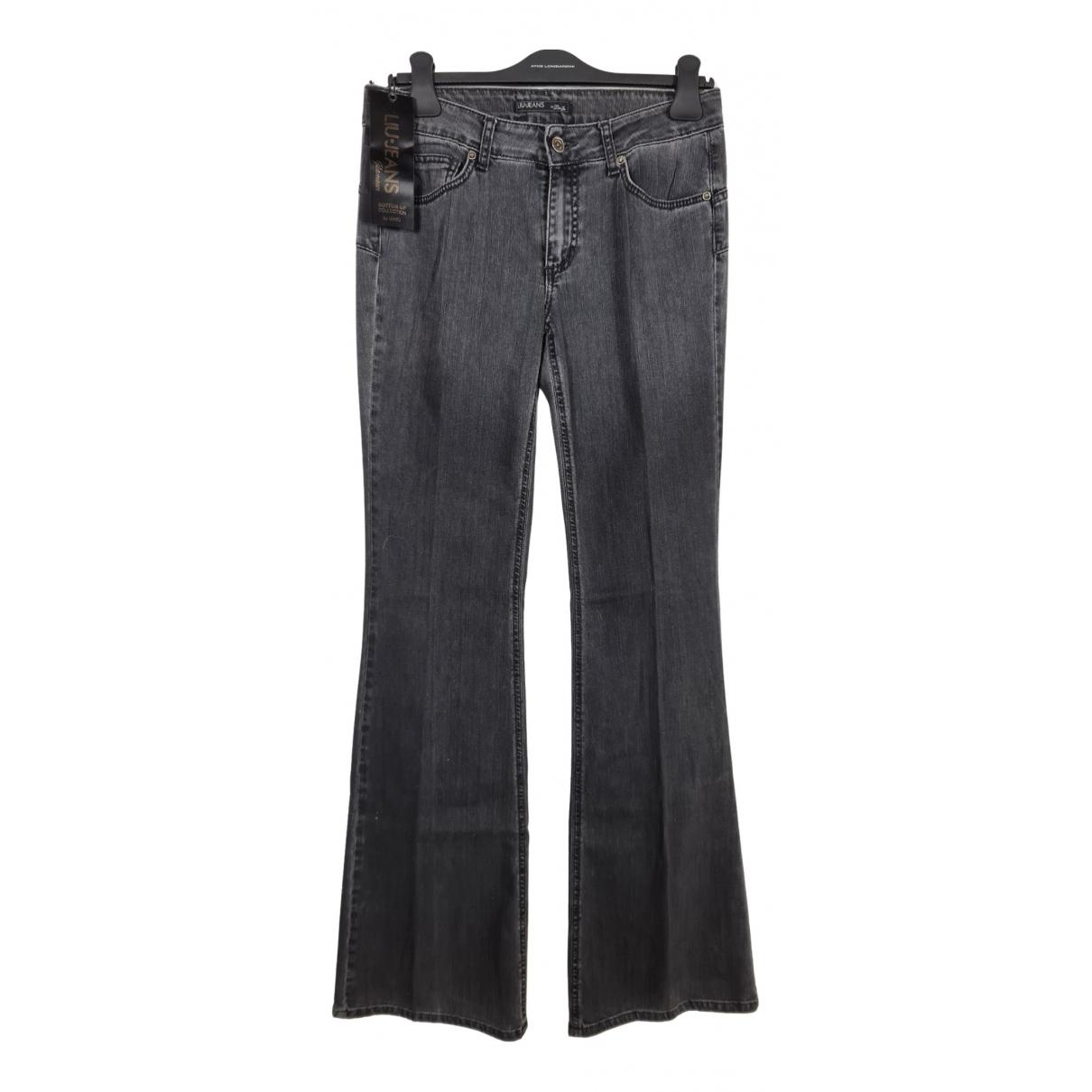 Liu.jo - Jean   pour femme en coton - noir