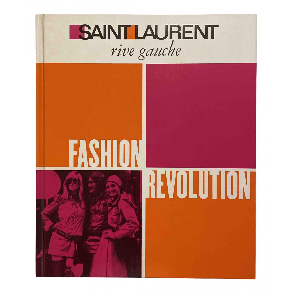 Saint Laurent N Multicolour Cotton Fashion for Life & Living N