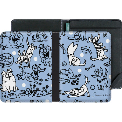 tolino vision eBook Reader Huelle - Happy Dogs Pattern von Simons Cat