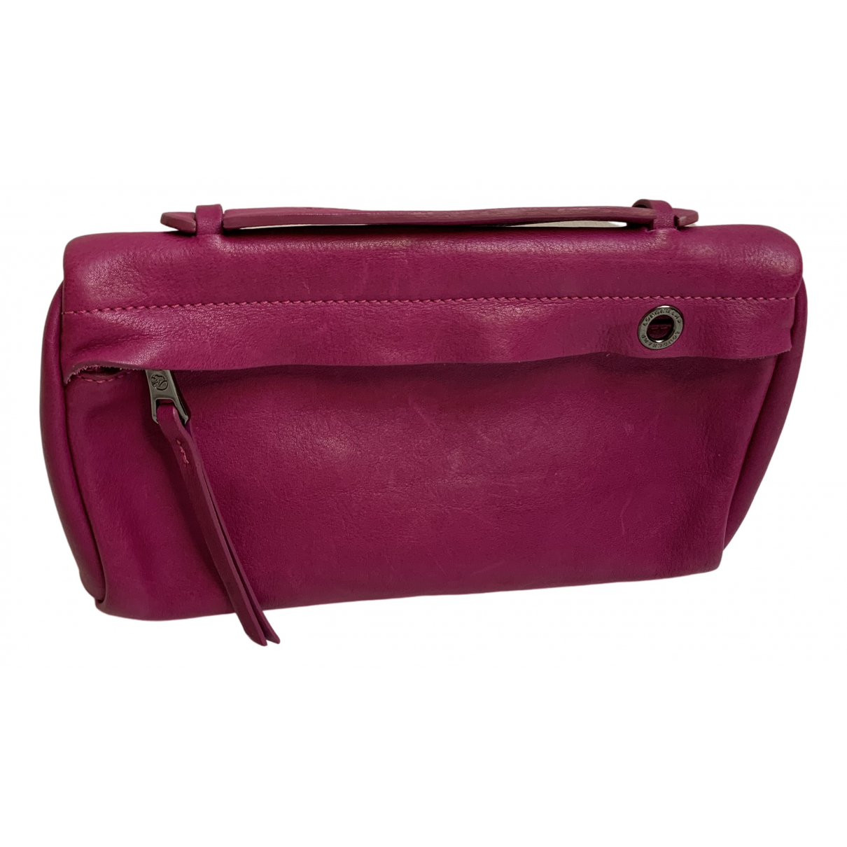 Longchamp \N Pink Leather Purses, wallet & cases for Women \N